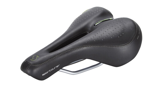 Sportourer FLX Gel Flow de Luxe ´15 Siodełko czarny